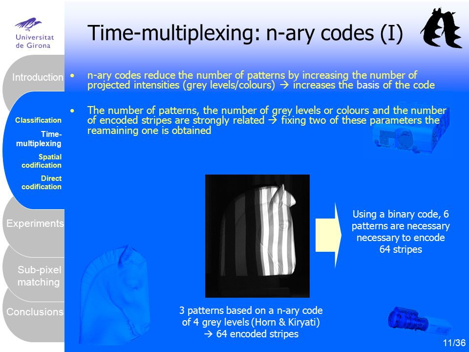 Time-multiplexing: n-ary codes (I)