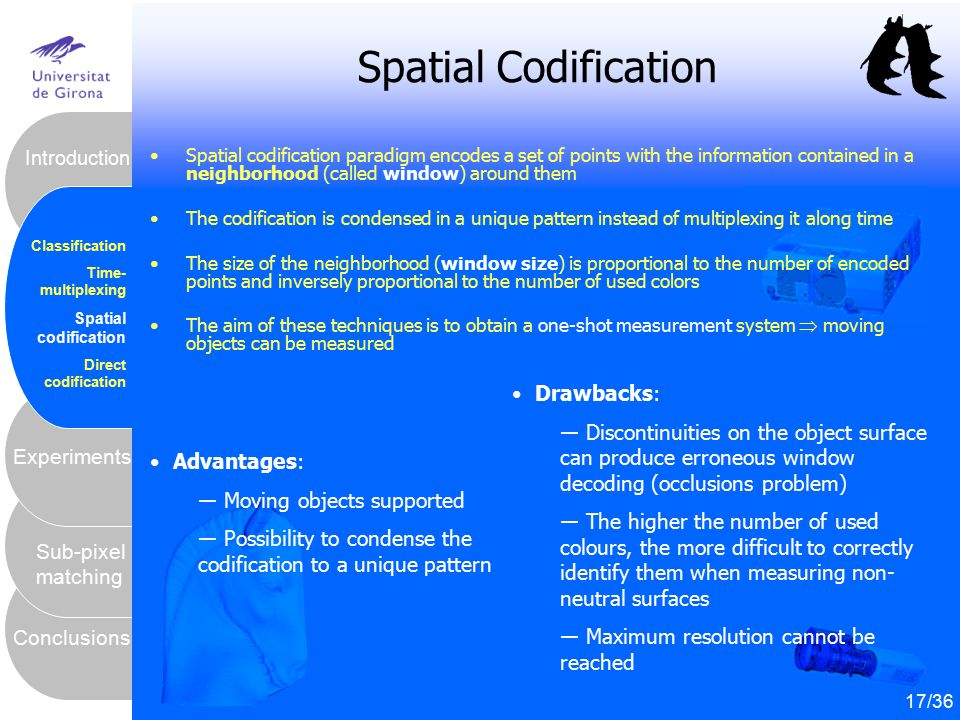 Spatial Codification Drawbacks: