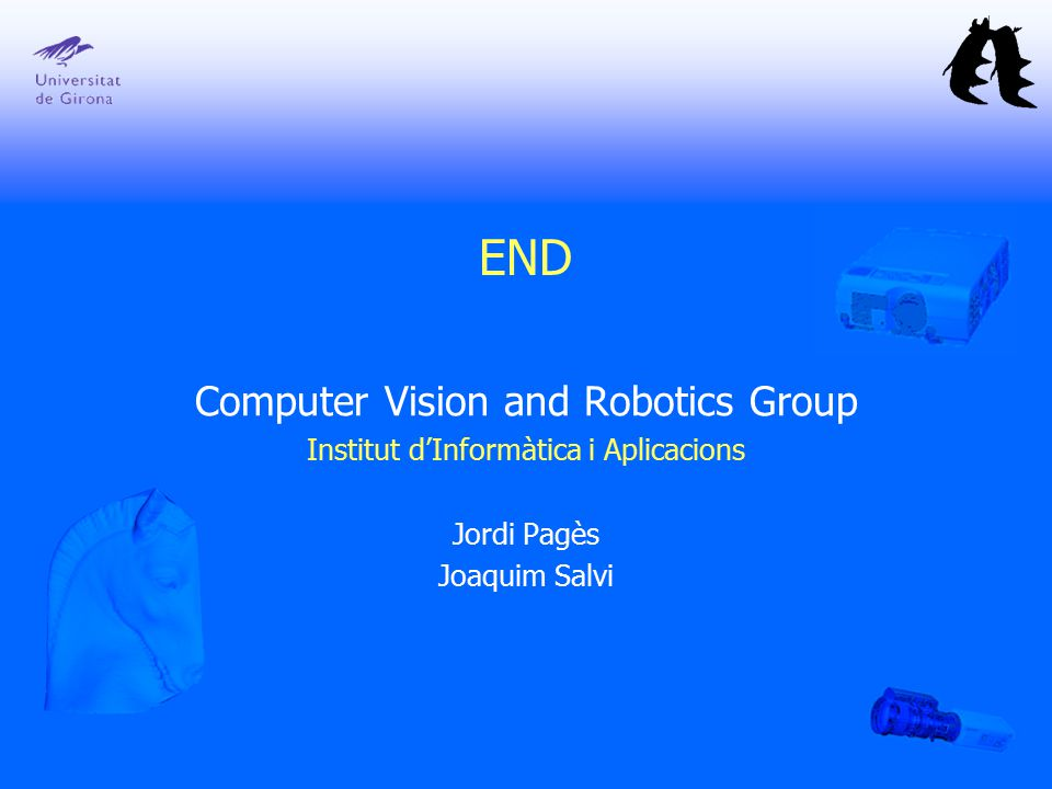 END Computer Vision and Robotics Group