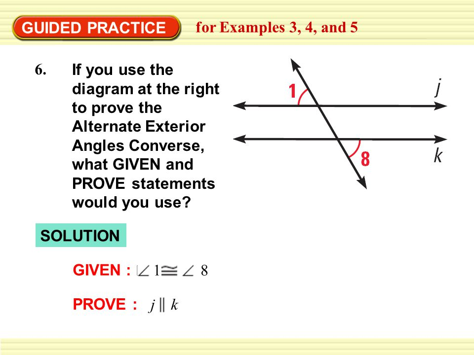 GUIDED PRACTICE for Examples 3, 4, and 5.