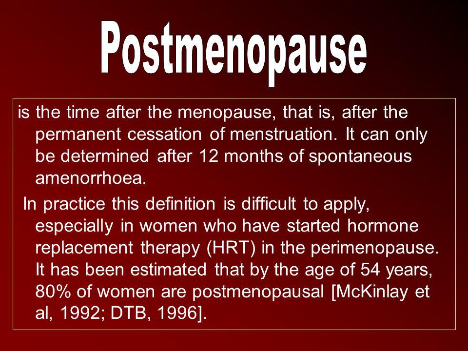 Postmenopause