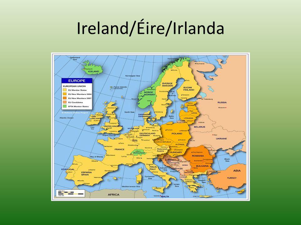 Ireland/Éire/Irlanda