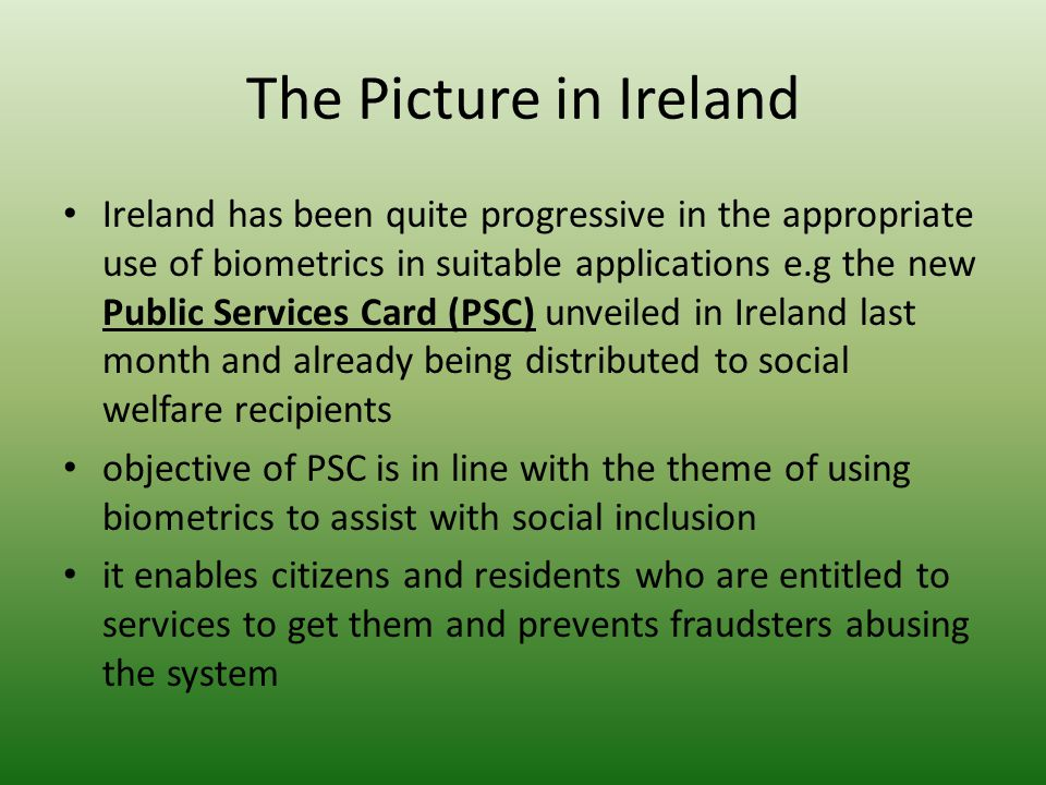 The Picture in Ireland