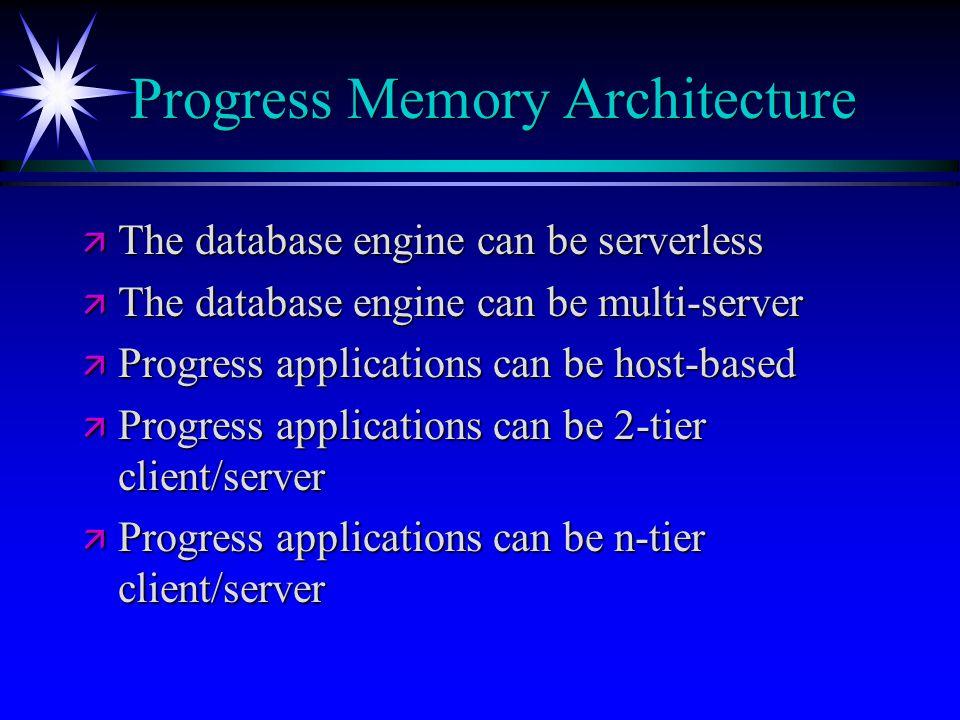 Progress Memory Architecture