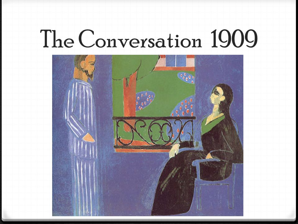 The Conversation 1909