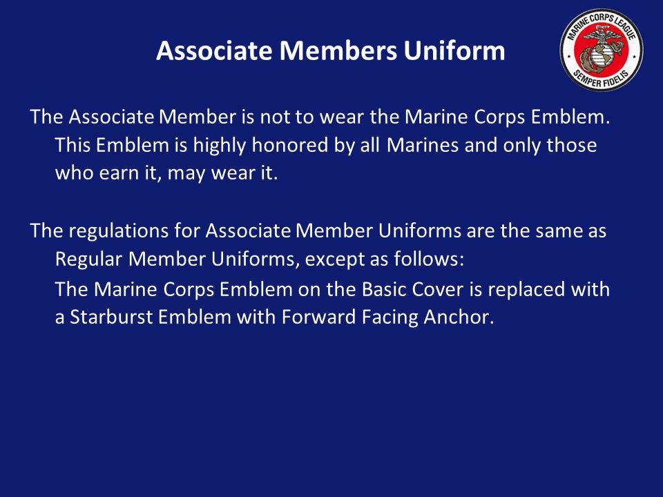 Associate Members Uniform