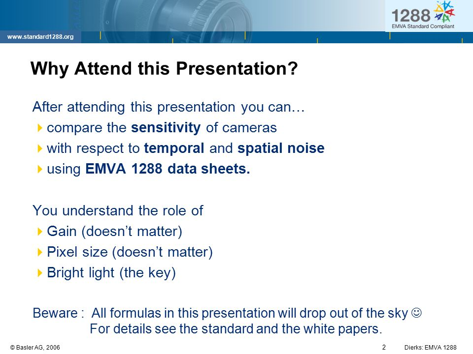 Why Attend this Presentation