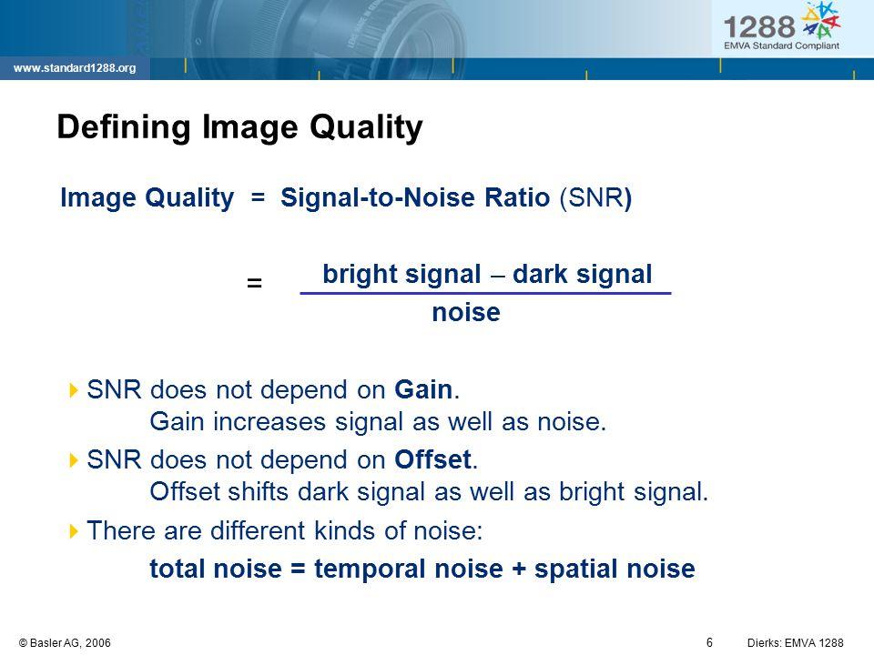 Defining Image Quality