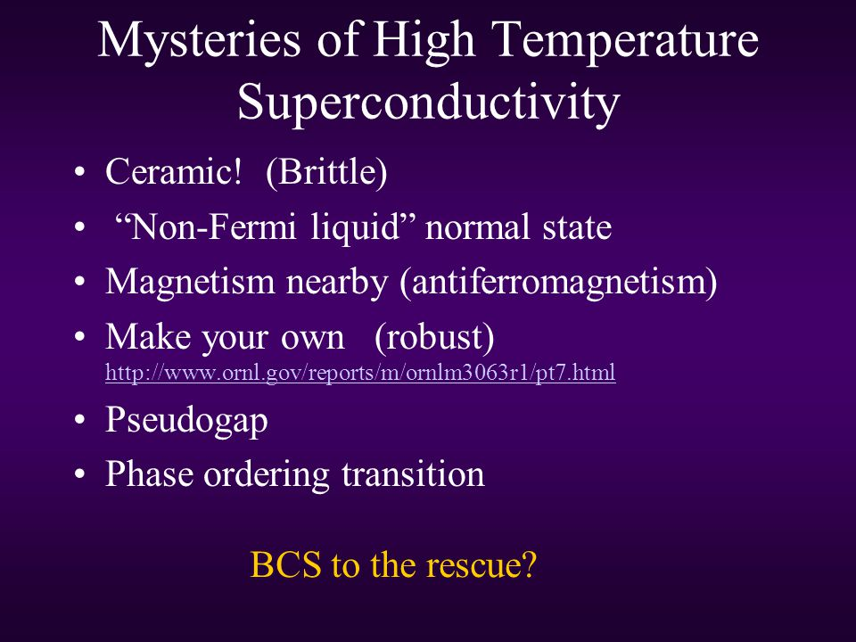 Mysteries of High Temperature Superconductivity