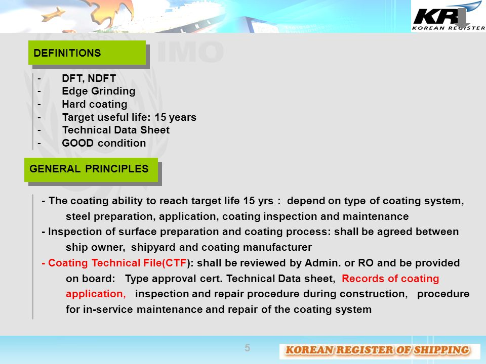 DEFINITIONS DFT, NDFT. Edge Grinding. Hard coating. Target useful life: 15 years. Technical Data Sheet.
