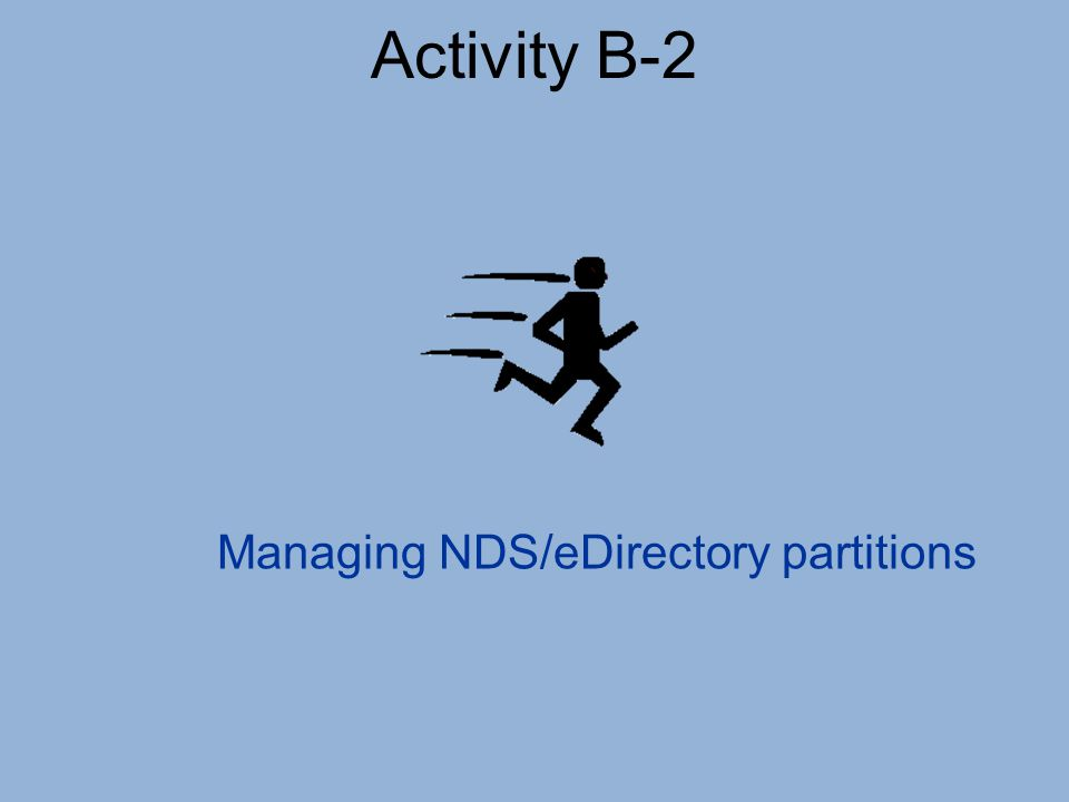Managing NDS/eDirectory partitions