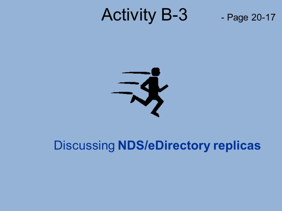 Discussing NDS/eDirectory replicas