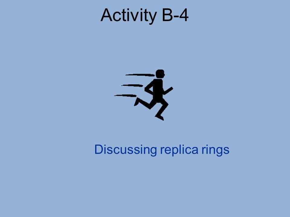 Discussing replica rings