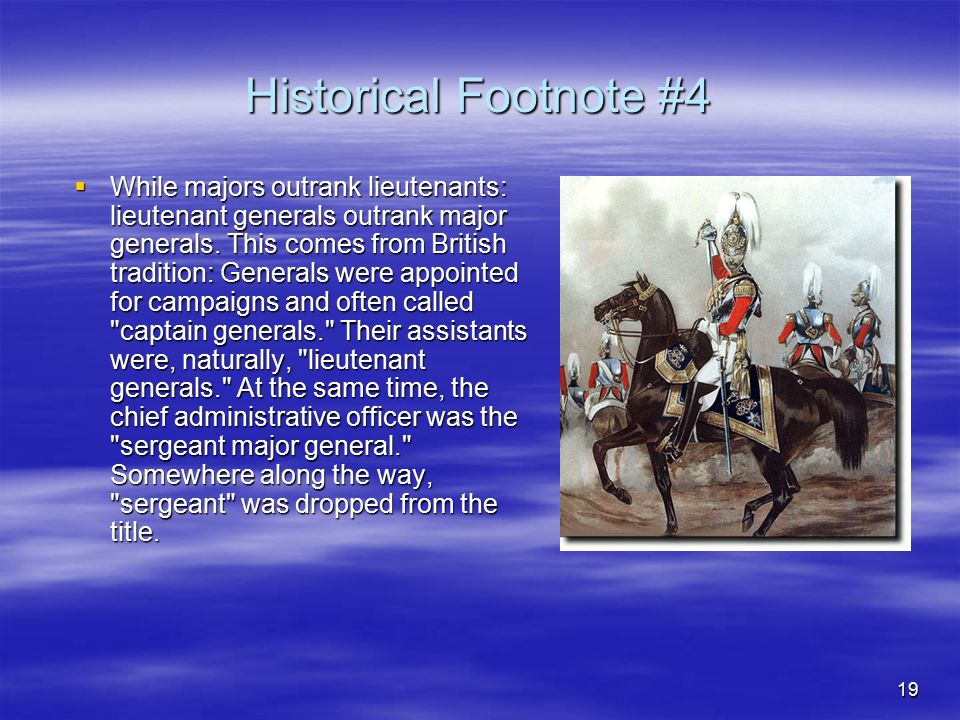 Historical Footnote #4