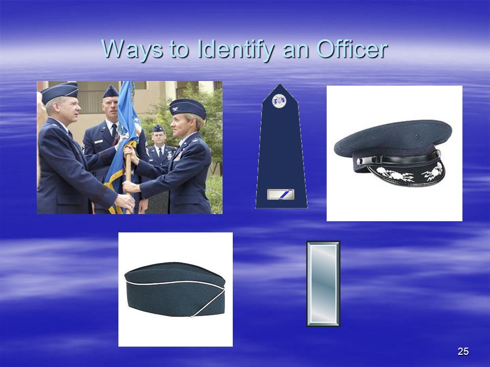 Ways to Identify an Officer