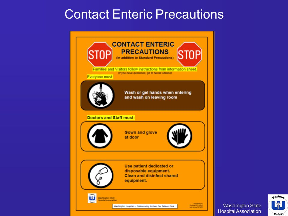 Contact Enteric Precautions