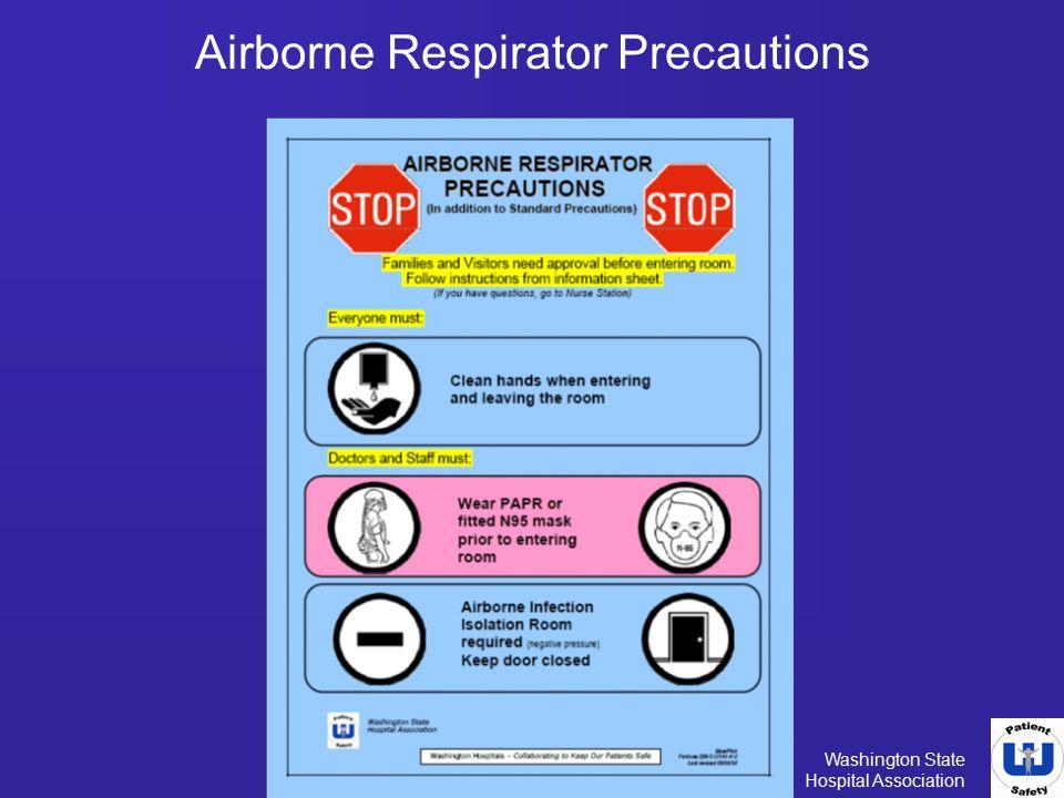 Airborne Respirator Precautions