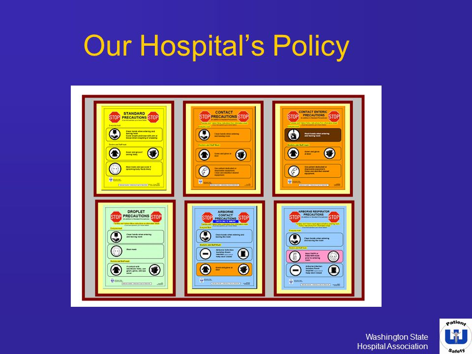 Our Hospital's Policy Review your hospital's policy.