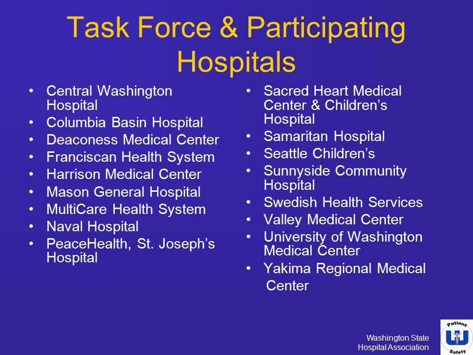 Task Force & Participating Hospitals