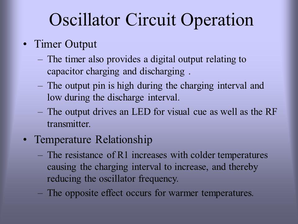 Oscillator Circuit Operation