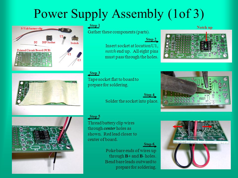 Power Supply Assembly (1of 3)
