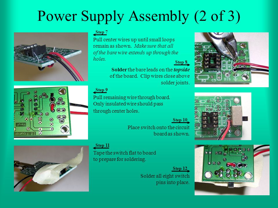 Power Supply Assembly (2 of 3)