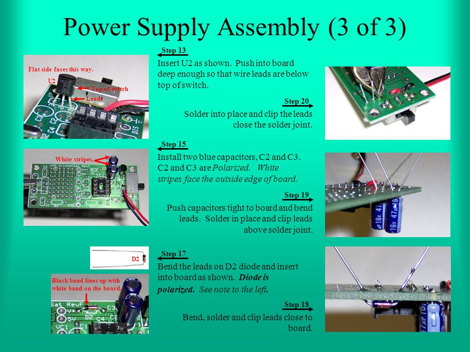 Power Supply Assembly (3 of 3)