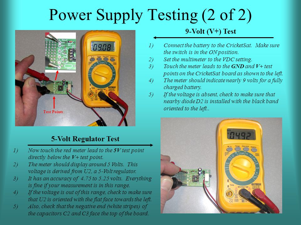Power Supply Testing (2 of 2)