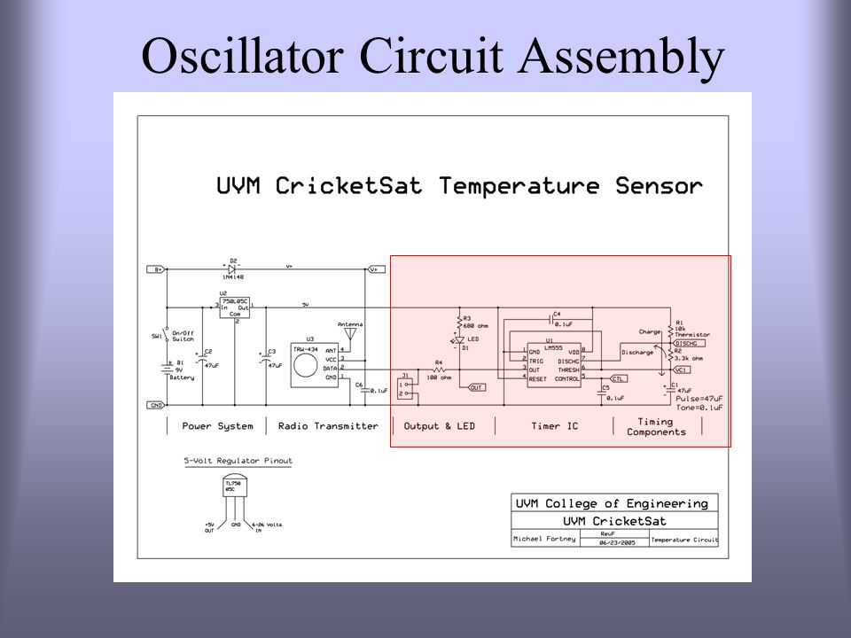 Oscillator Circuit Assembly