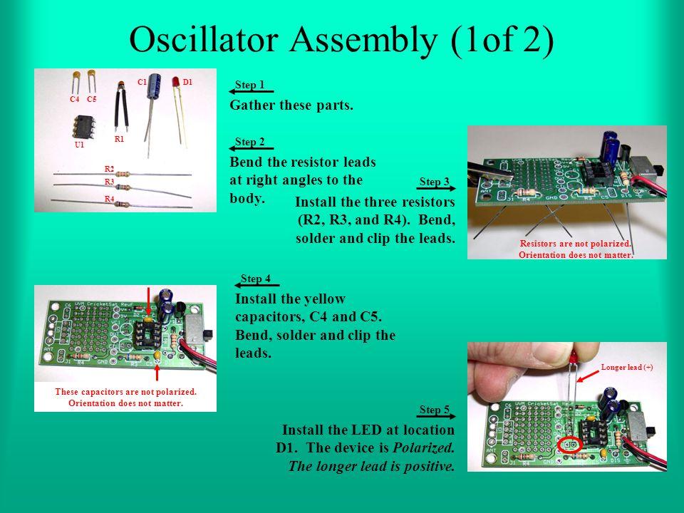 Oscillator Assembly (1of 2)