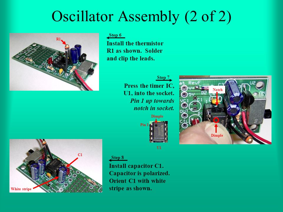 Oscillator Assembly (2 of 2)