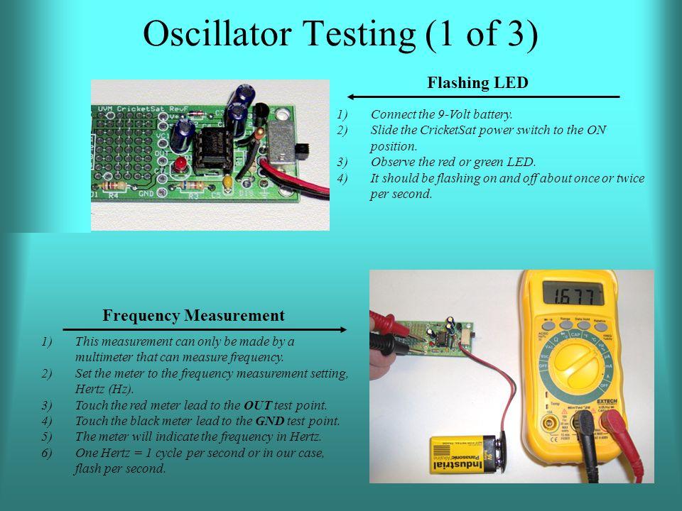 Oscillator Testing (1 of 3)