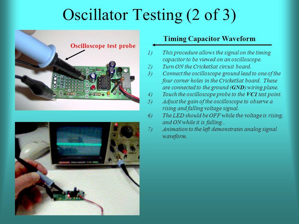 Oscillator Testing (2 of 3)