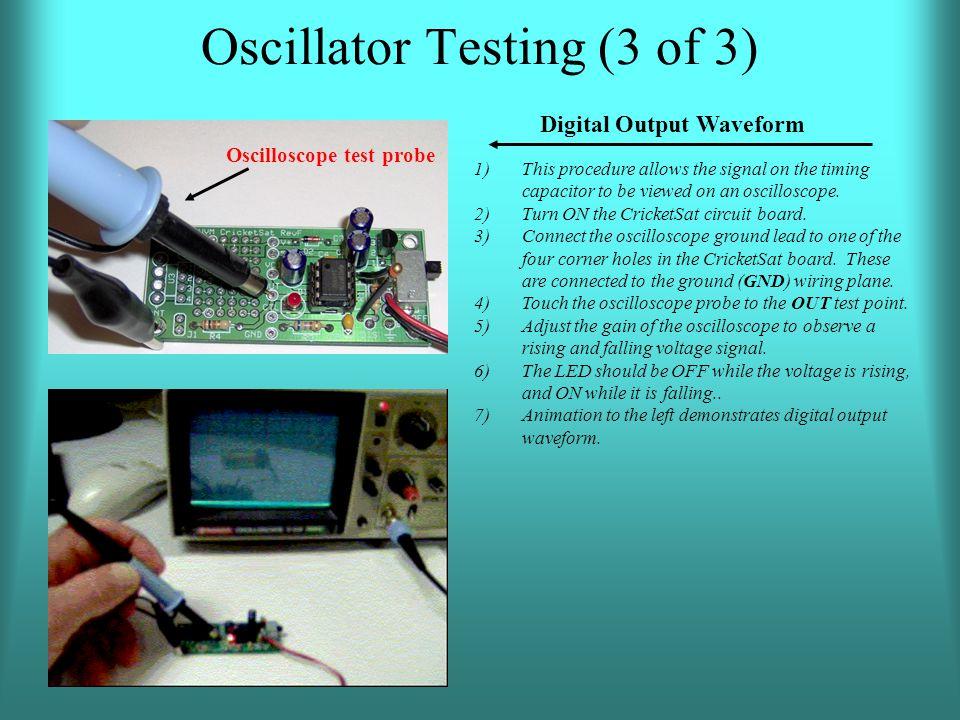 Oscillator Testing (3 of 3)