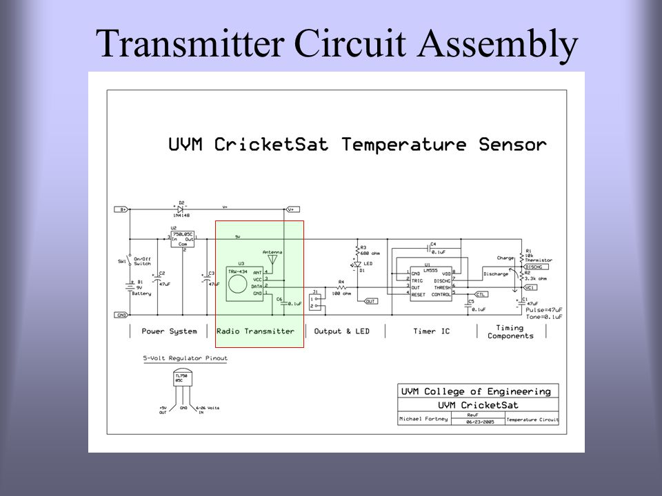 Transmitter Circuit Assembly