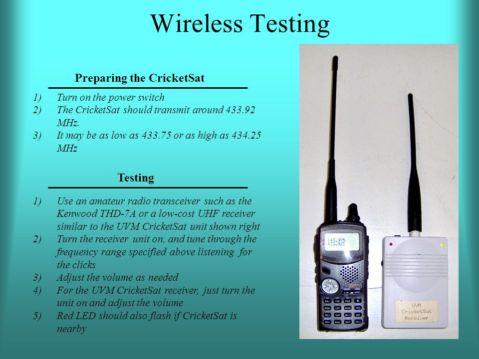Preparing the CricketSat