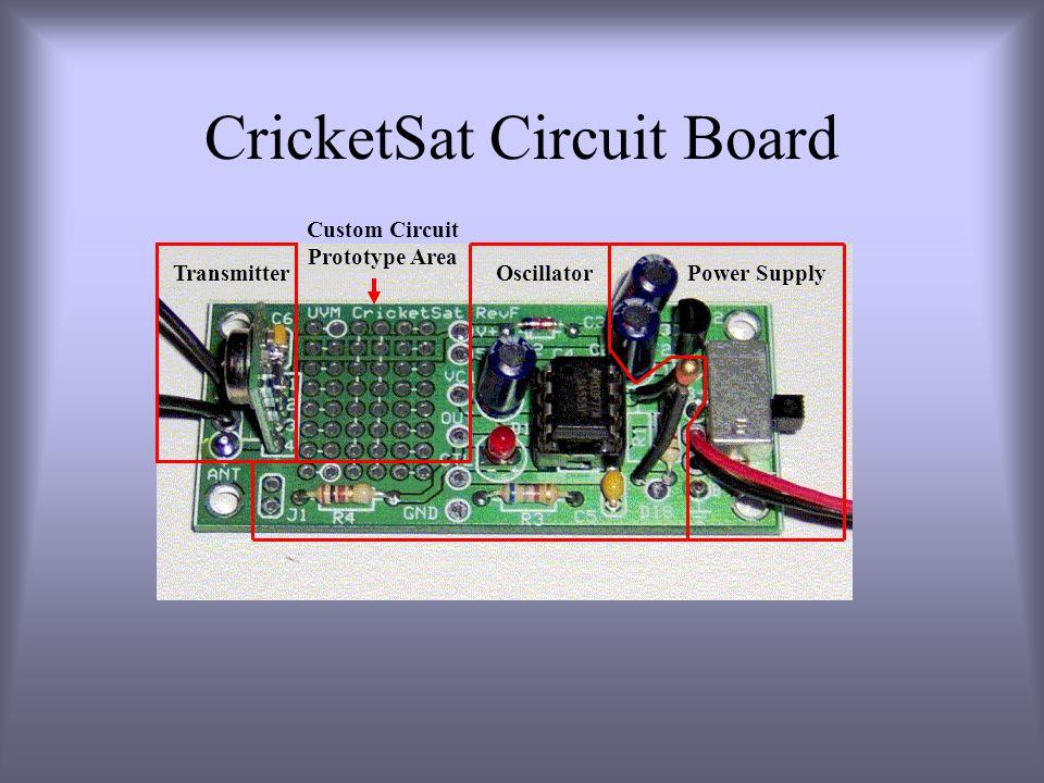 CricketSat Circuit Board