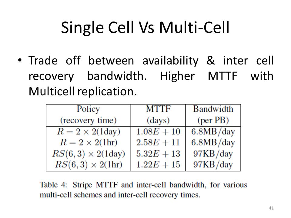 Single Cell Vs Multi-Cell