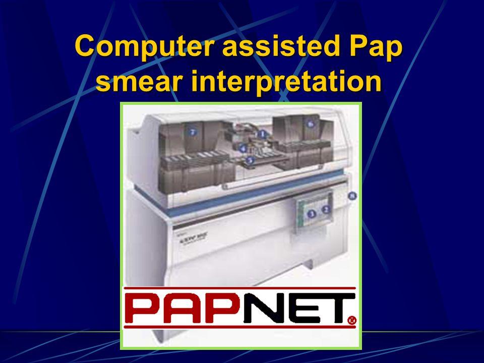 Computer assisted Pap smear interpretation