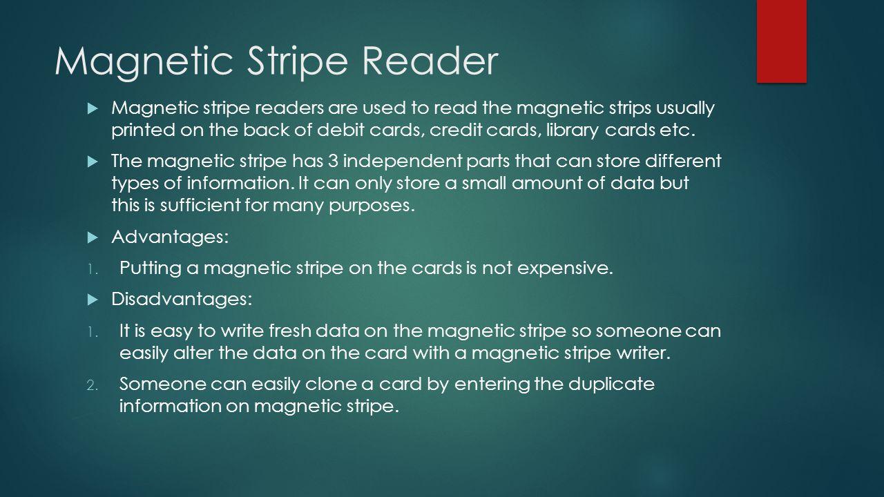 Magnetic Stripe Reader