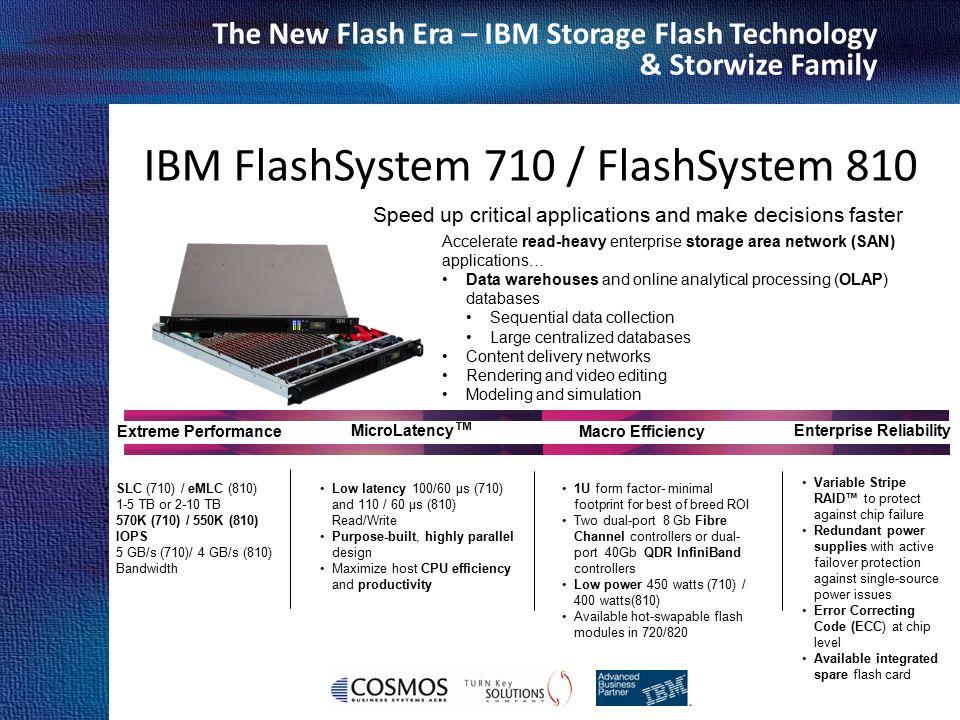 IBM FlashSystem 710 / FlashSystem 810