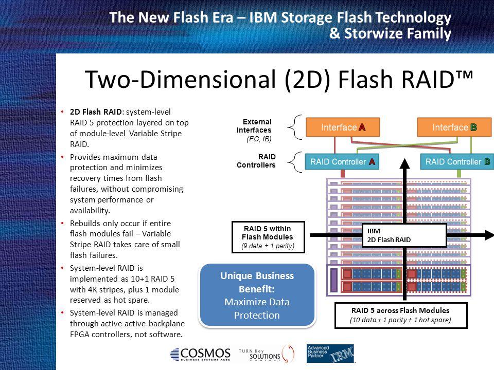Two-Dimensional (2D) Flash RAID™