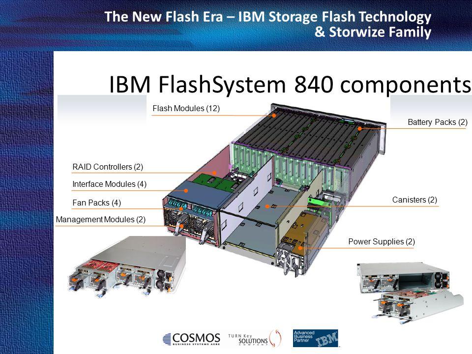 IBM FlashSystem 840 components