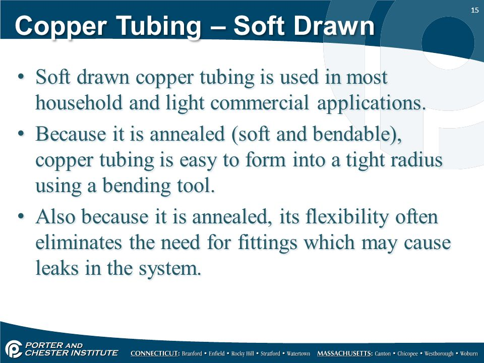 Steel Piping Copper Tubing Other Materials Ppt Video