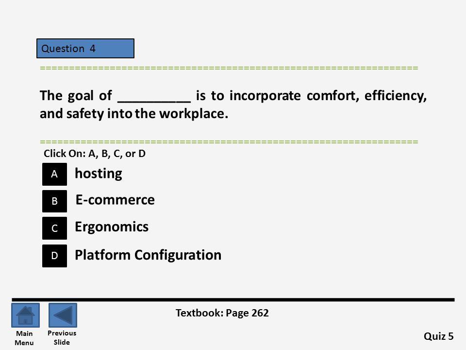 Platform Configuration