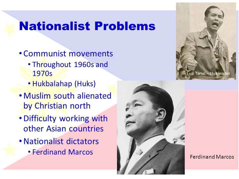 Nationalist Problems Communist movements