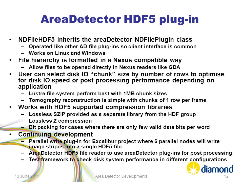 AreaDetector HDF5 plug-in