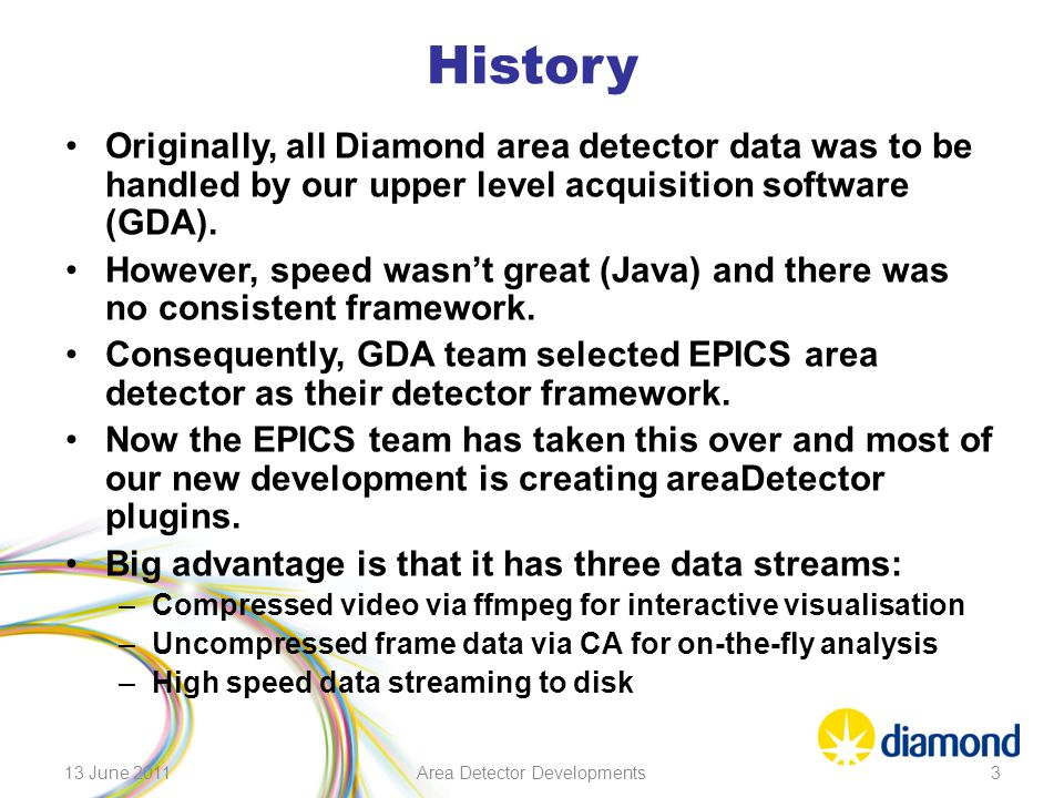 Area Detector Developments