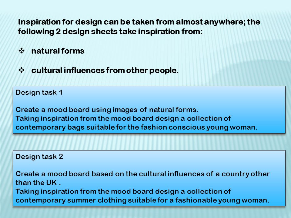 cultural influences from other people.