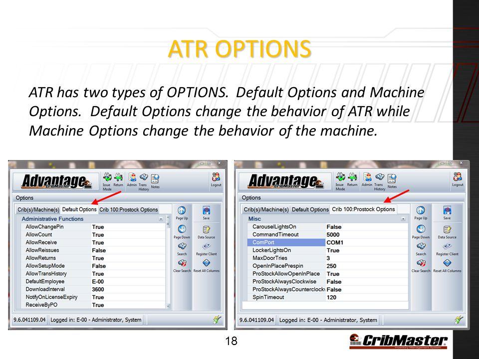 ATR Options